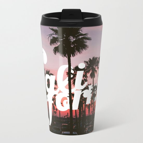 Balboa Pier, California Metal Travel Mug