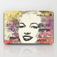 monroe iPad Cases featuring MONROE by Smart Friend