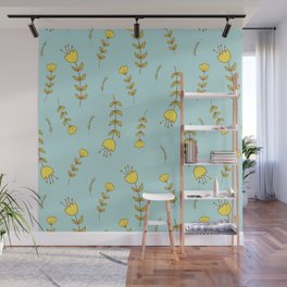 Spring Summer Tulips Wall Mural