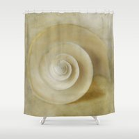 Japanese Wondershell Shower Curtain