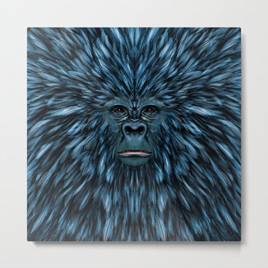 Blue Ape Metal Print