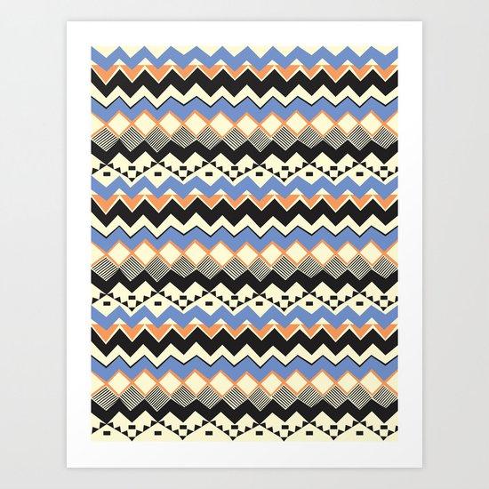 Ethnic Color Art Print