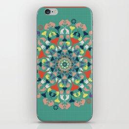 Mandala of Elephants 02. iPhone Skin