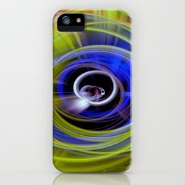 Space twirls iPhone Case