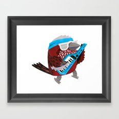 Rockin' Pallas Rose Finch Framed Art Print