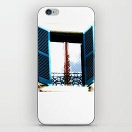 Window to the Present iPhone Skin