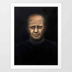 The Alcoholic (oil on canvas) Art Print