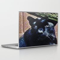 panther Laptop & iPad Skins featuring Panther by grapeloverarts