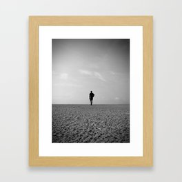 Last man standing Framed Art Print