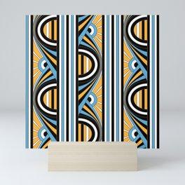 Art Deco Sunrises Mini Art Print