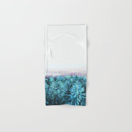 Tree Tops #society6 #buyart #decor Hand & Bath Towel