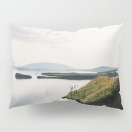 Fairy Dust - Moss Covered Tiny House Iceland Pillow Sham