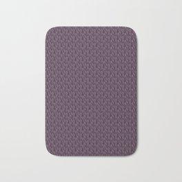 Purple and Black Zebra Bath Mat