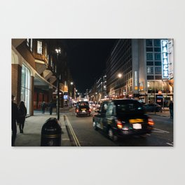 London West End at Night Canvas Print