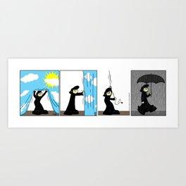 Change of Scenery Art Print