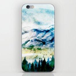Mountain Landscape iPhone Skin