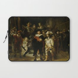 "Rembrandt Harmenszoon van Rijn, ""The Night Watch"", 1642 Laptop Sleeve"
