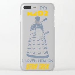Nerd Rage - Dalek Clear iPhone Case