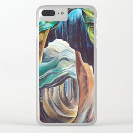 Emily Carr Forest British Columbia Painting Clear iPhone Case