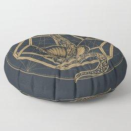 SACRED SERPENT Floor Pillow