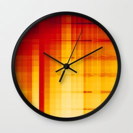 Overwhelming Redhead of Hate Wall Clock