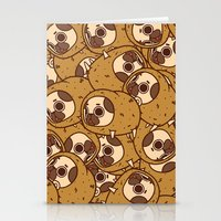 potato Stationery Cards featuring Puglie Potato by Puglie Pug