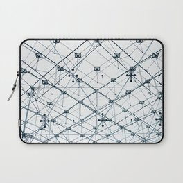 Underneath the Louvre Pyramid Laptop Sleeve