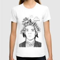 basquiat T-shirts featuring Basquiat by offthefaceoftheearth