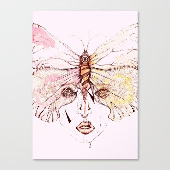 Pink Vision Canvas Print