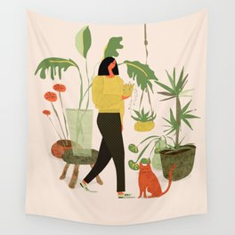 Migrating a Plant Wall Tapestry