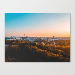 Beautiful Berlin in the afternoon Canvas Print