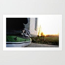 Groundview Art Print