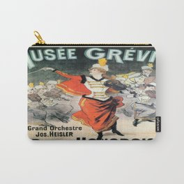Vintage poster - Musee Grevin Carry-All Pouch