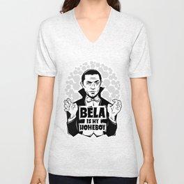 Bela Is My Homeboy Unisex V-Neck