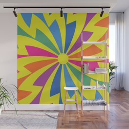Retro design 60s Wall Mural