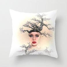 Earth Queen Throw Pillow