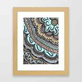 Blackbook No. 3 (Color) Framed Art Print