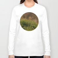 moss Long Sleeve T-shirts featuring Moss by A Wandering Soul