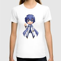 vocaloid T-shirts featuring Kaito by Nozubozu