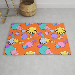 BTS Permission to Dance Pattern Rug