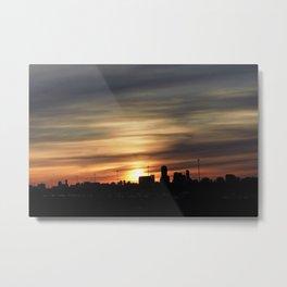 Sunset Toronto Metal Print