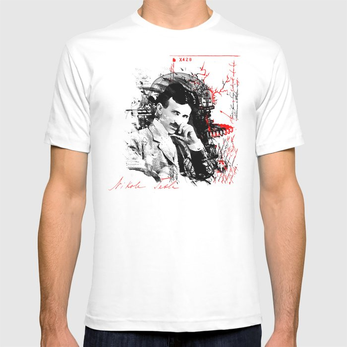 Shirt Nikola T VivalarevolucionSociety6 By Tesla 0P8wkXNnO