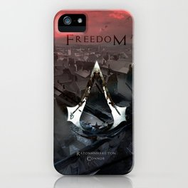 Assassin's Creed 3: Connor, Master Assassin of the American Revolutionary War iPhone Case