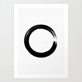 Enso Circle Art Print
