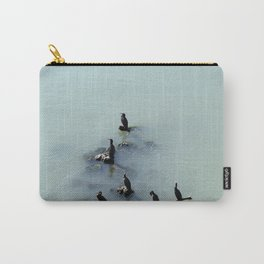 Cormorants Birds on the River Carry-All Pouch