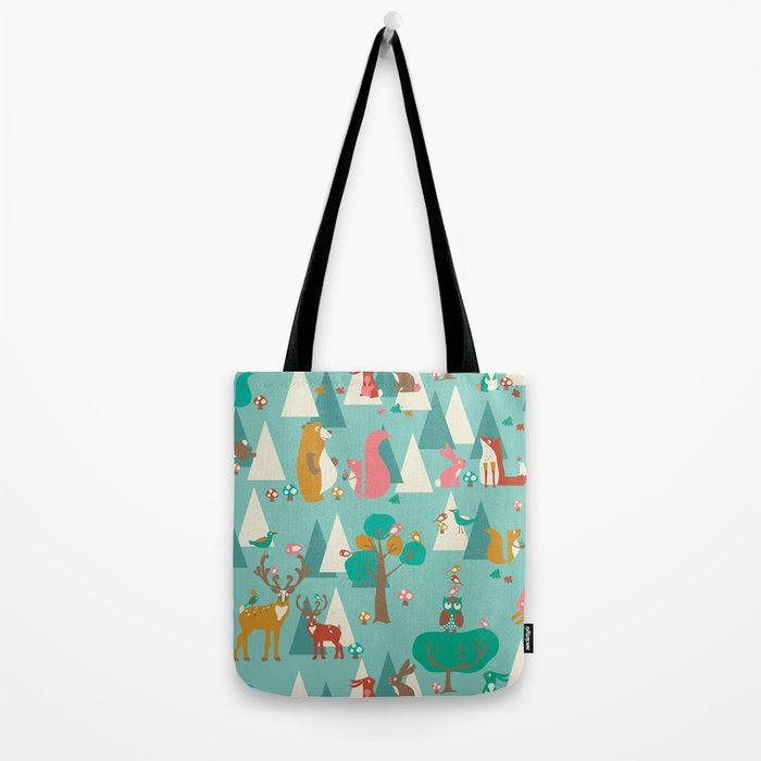 Forest Hideaway-in the forest Tote Bag