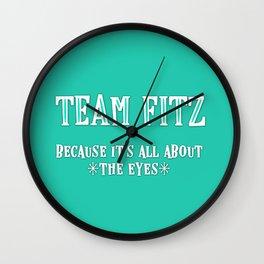 Team Fitz Wall Clock
