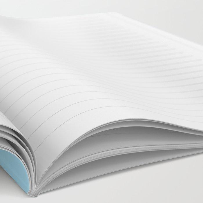Weird Blue Psychedelic Eye Notebook