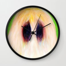 Easter Sasquatch Wall Clock