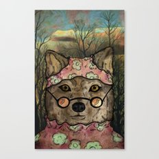 Abueloba (Granny-wolf) Canvas Print